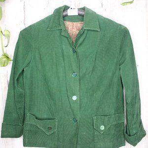 Dutchmaid Green Corduroy 34 Cotton Vintage Blazer